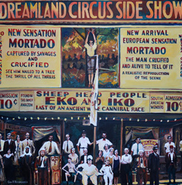 George H. Rothacker - NY 30 - Dreamland Side Show Circus